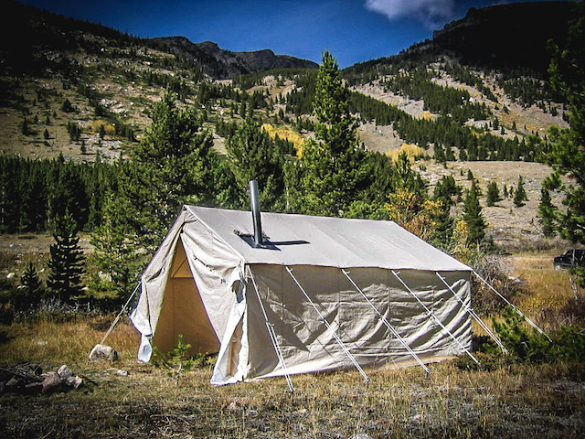 Wall tent 1
